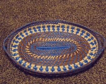 Hand Woven Pine Needle Basket