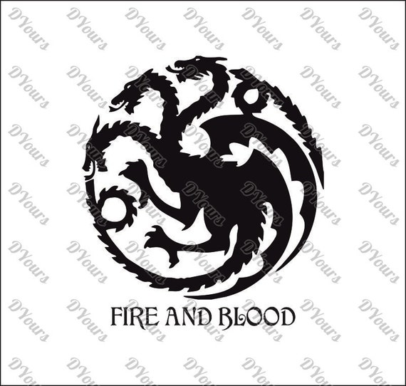 Targaryen House Game of Thrones Vector svg cdr ai pdf eps