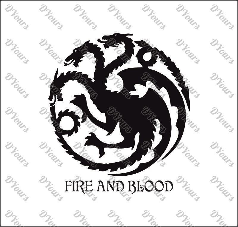 Targaryen House Game of Thrones Vector svg cdr ai pdf eps