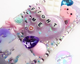 Fight Me - Iphone 5/5s Crystal Rhinestone Case