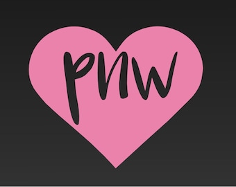 Pacific Northwest Decal - PNW