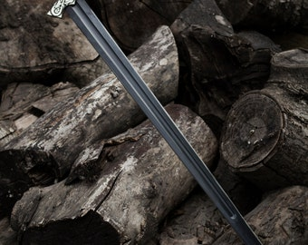 Viking hybrid sword - Hand crafted in HQ steel, and custom Bronze