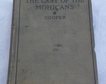 1898 Coopers last of the mohicans