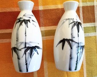 Pair of sake pitchers