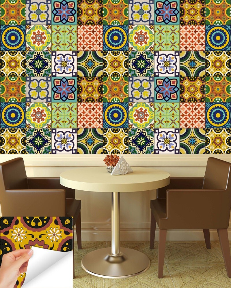 kitchen wall tile stickers 24 tile stickers kitchen idea bathroom tiles decals bathroom 6449