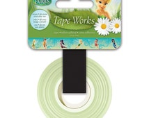 15mm Tape Works Cute TinkerBell Fairy Pattern Washi Tape For Planners Erin Condren Filofax Happy Planner