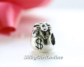 Money Bags Sterling Silver PANDORA Charm - 790332