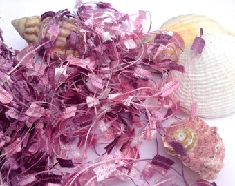 ICE Yarns Butterfly Pink Shades Maroon one skein