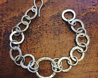 Handmade Silver Chain Bracelet
