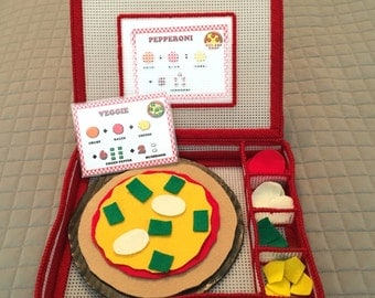 My Play Counting Pizza Kit Game