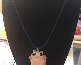 Leuistic Polymer Clay Sugar Glider Necklace CLEARANCE