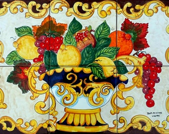 Hand Painted Italian Ceramic By Ceramicsfromitaly On Etsy