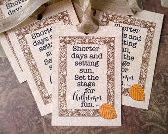 Autumn, Thanksgiving, Autumn Tags, Thanksgiving Tags, Gift Tags, Leaf Tags, Autumn Labels