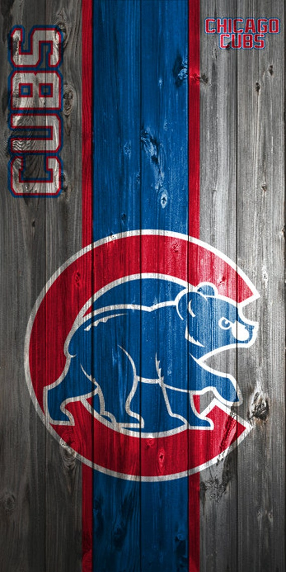 Custom Vinyl Cornhole Boards Decals Chicago Cubs Bag Toss Game