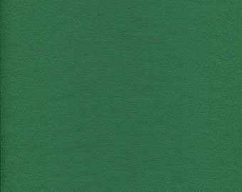 Emerald Green 100% Wool Fabric for Rug Hooking, Applique, Braiding and Sewing
