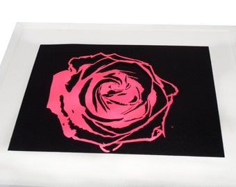 Rose Paper Cut Out
