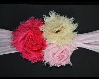 Infant Shabby Chic headband
