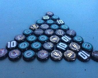 8 oz BLACK Bottle Caps -FREE SHIPPING