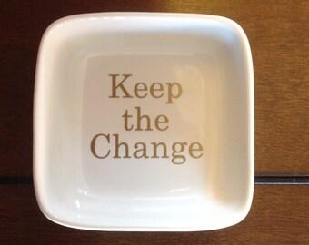 Pocket Change Dish/Holder