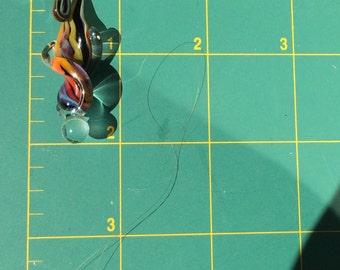 Borosilicate Rainbow Twist pendant