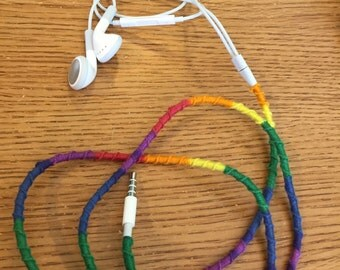 Rainbow ear buds