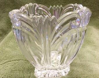 Cut Crystal Bowl Etsy