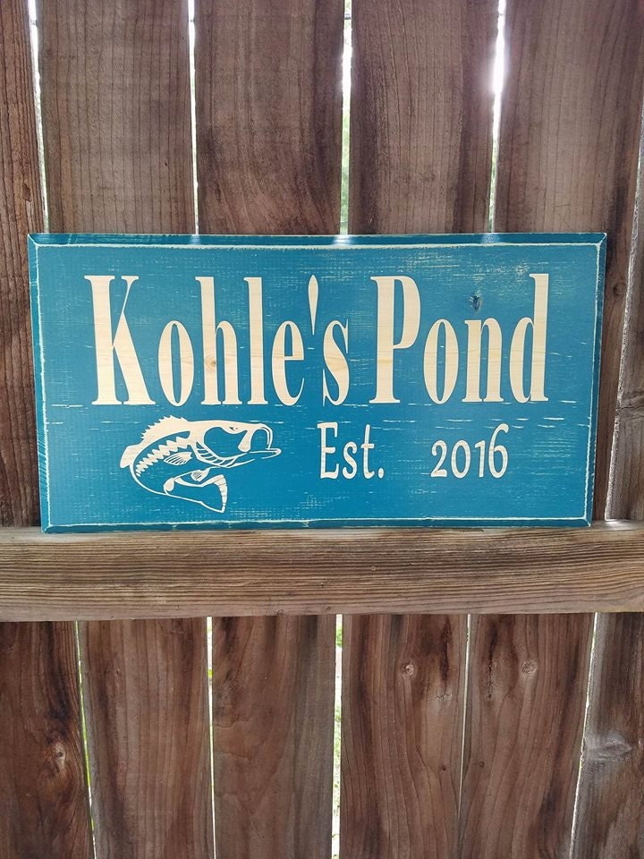 Lake House Sign Outdoor Plaque Lake House By Nelsonsknottybits
