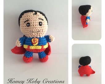 Crochet Superman pattern