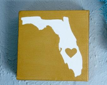 State Love 6in x 6in
