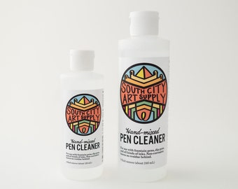 Pen cleaning solution (for dip pens & fountain pens)