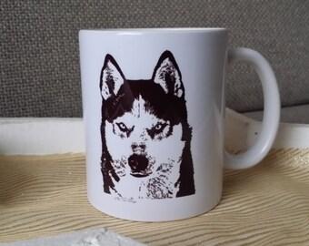 Mug Siberian Husky