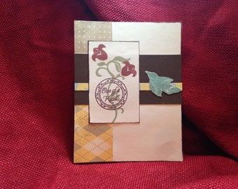 One of a Kind handmade Greeting card- set of 10