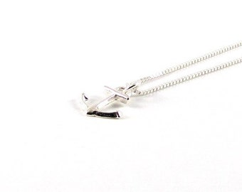 Anchor I delicate necklace I Silver 925