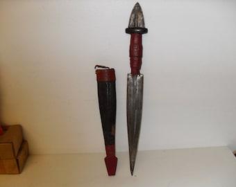 Vintage African Tribal Dagger