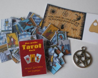 Tarot cards - Doll House miniature polymer clay