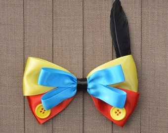 Disney Inspired Pinocchio Hair Bow