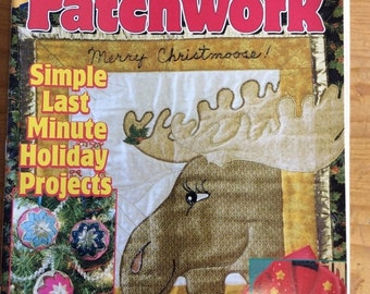 ON SALE Vintage Quilting Magazine, Quick and Easy, Patchwork, 1998