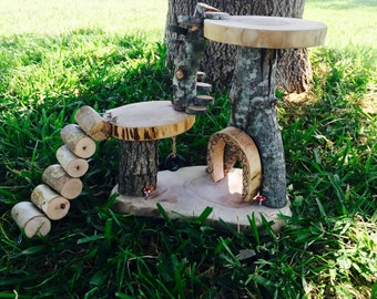 Fairy Gnome Garden Treehouse - Shipping Included