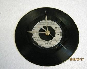 """Elton John - """"Part Time Love"""" Record Wall Clock"""
