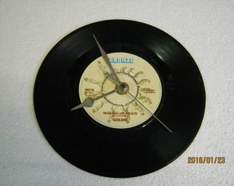 """Goldie - """"Making Up Again"""" Vinyl Record Wall Clock"""