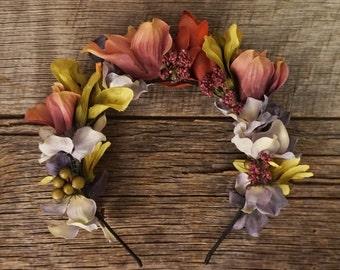 Handmade flower crown.