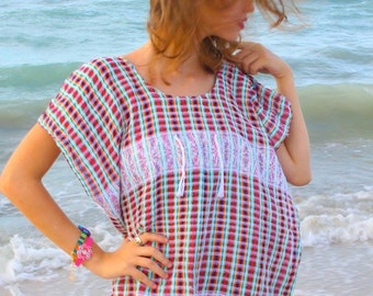 Hand Woven Coverup