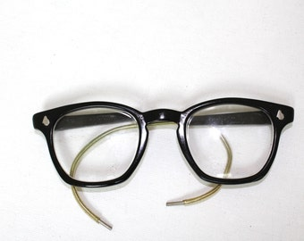 American Optical Eyeglasses 1950s /cable arms
