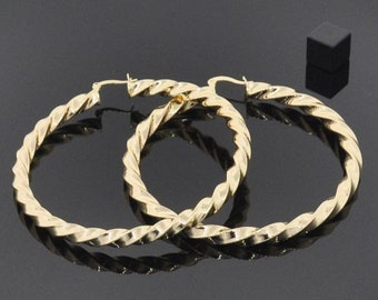18K Gold Filled Hoops - Lasts for YEARS