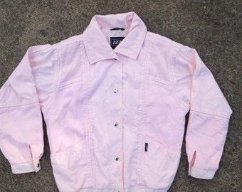Vintage pink ladies jacket