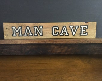 Man Cave on Reclaimed Wood