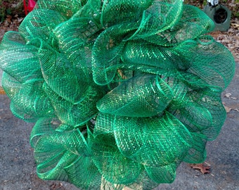 "Green Christmas Wreath 18"""