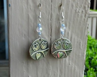 Owl Love Earrings