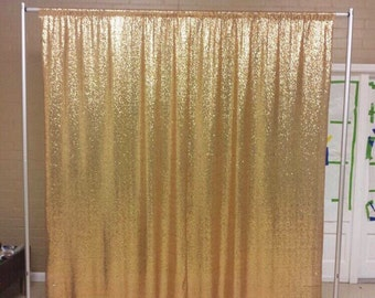 Gold Curtains Etsy