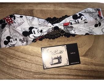 Mickey & Minnie Headband